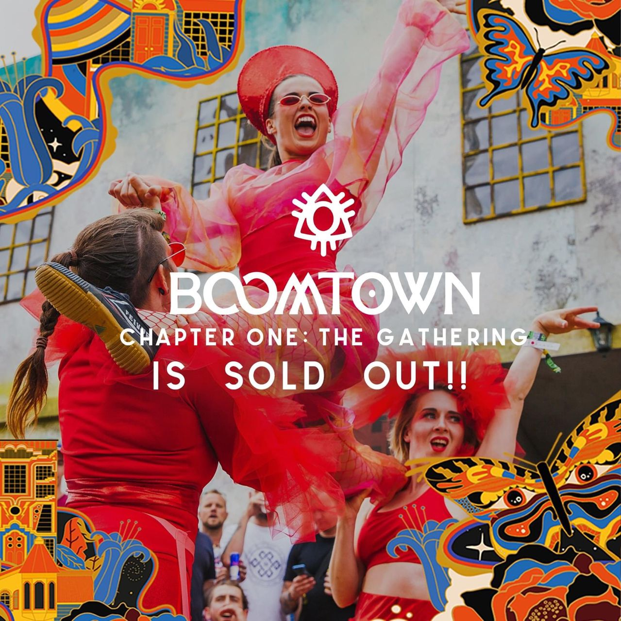 Boomtown 2021 sold out the week following the government's roadmap