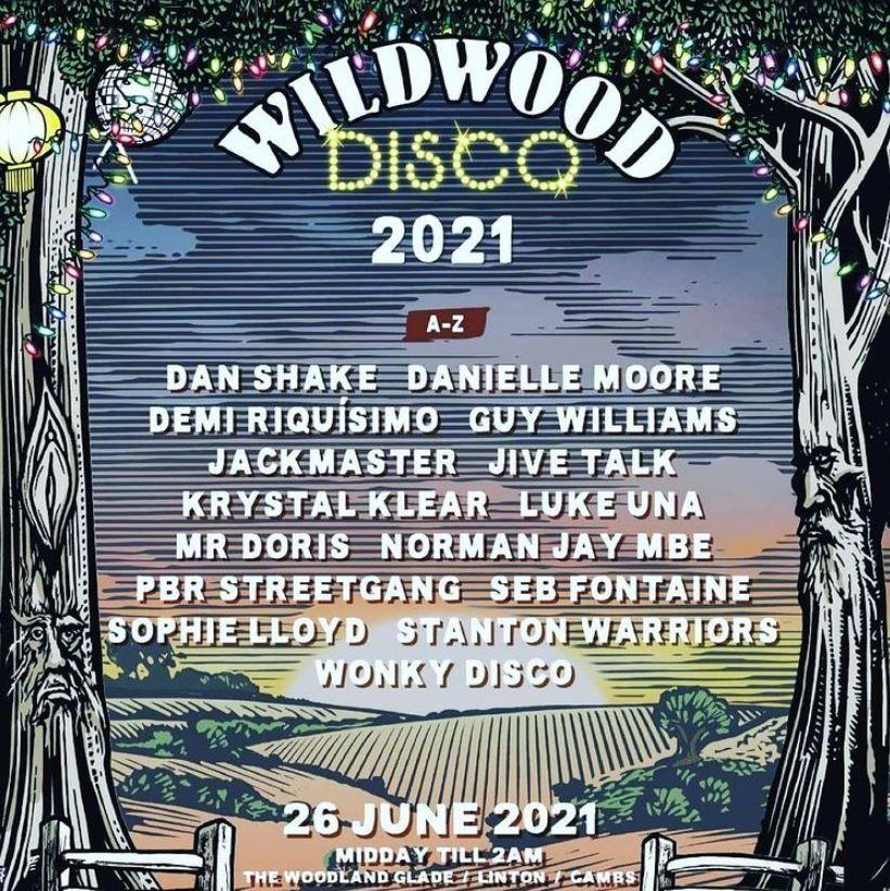 Wildwood Disco's confirmed 2021 lineup